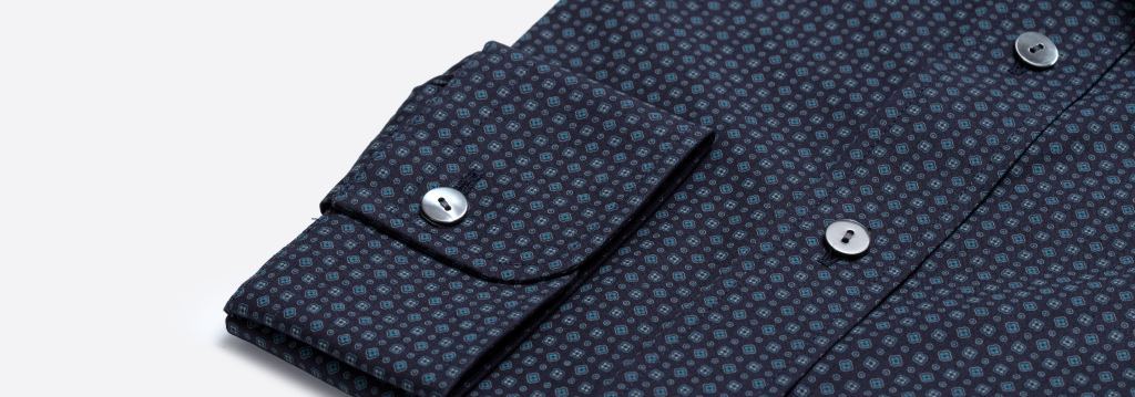 www.richardfox.co Navy Fancy Custom Shirt