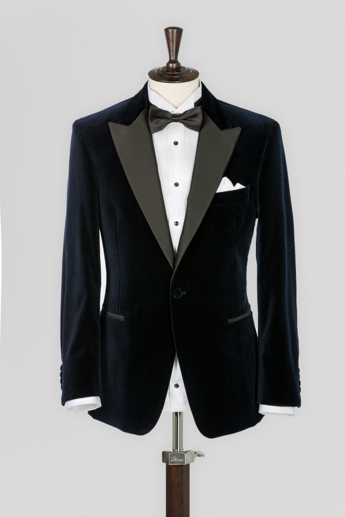 www.richardfox.co Peak lapel Tuxedo
