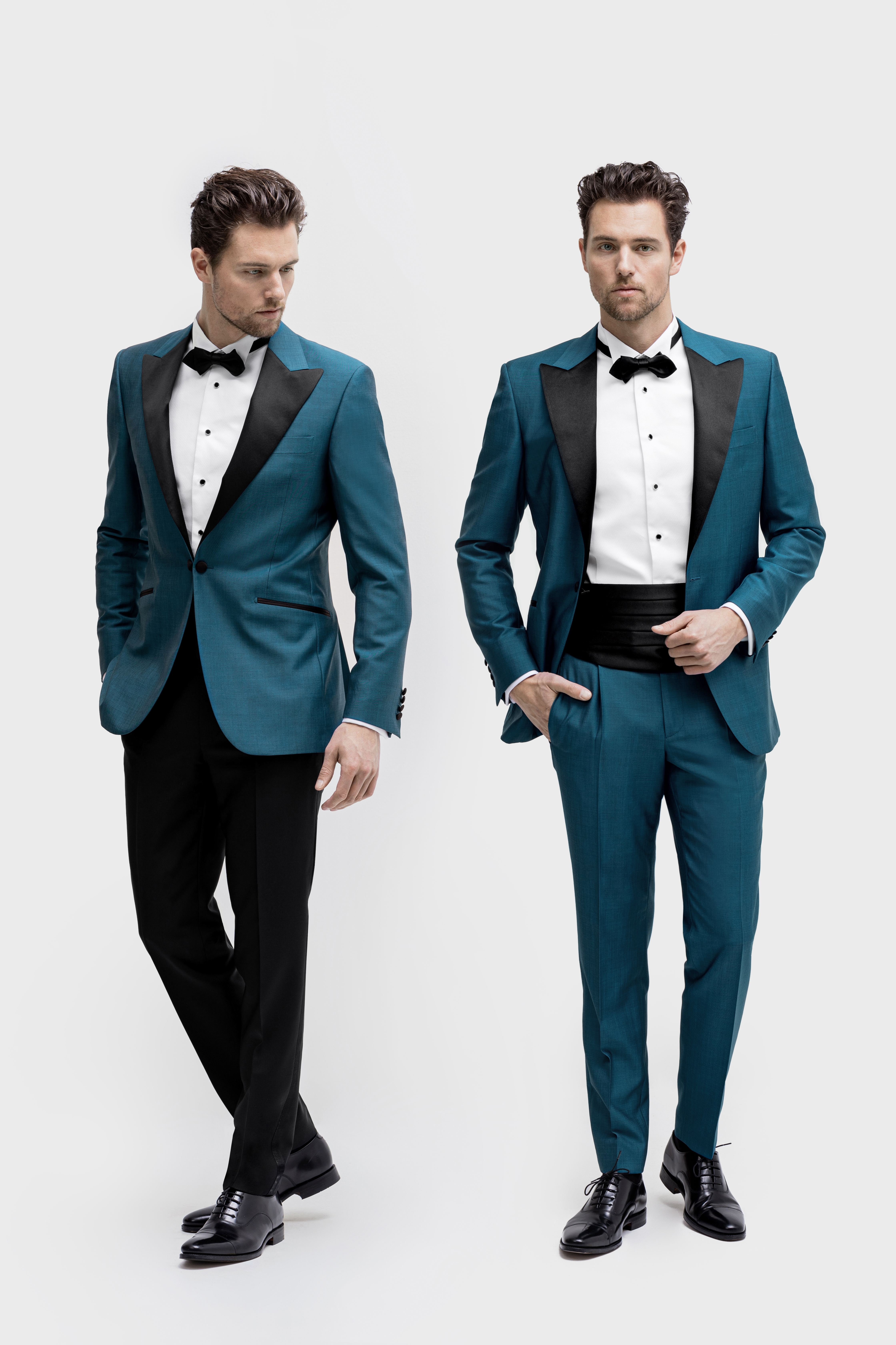 www.richardfox.co Custom Mid Blue Tuxedo