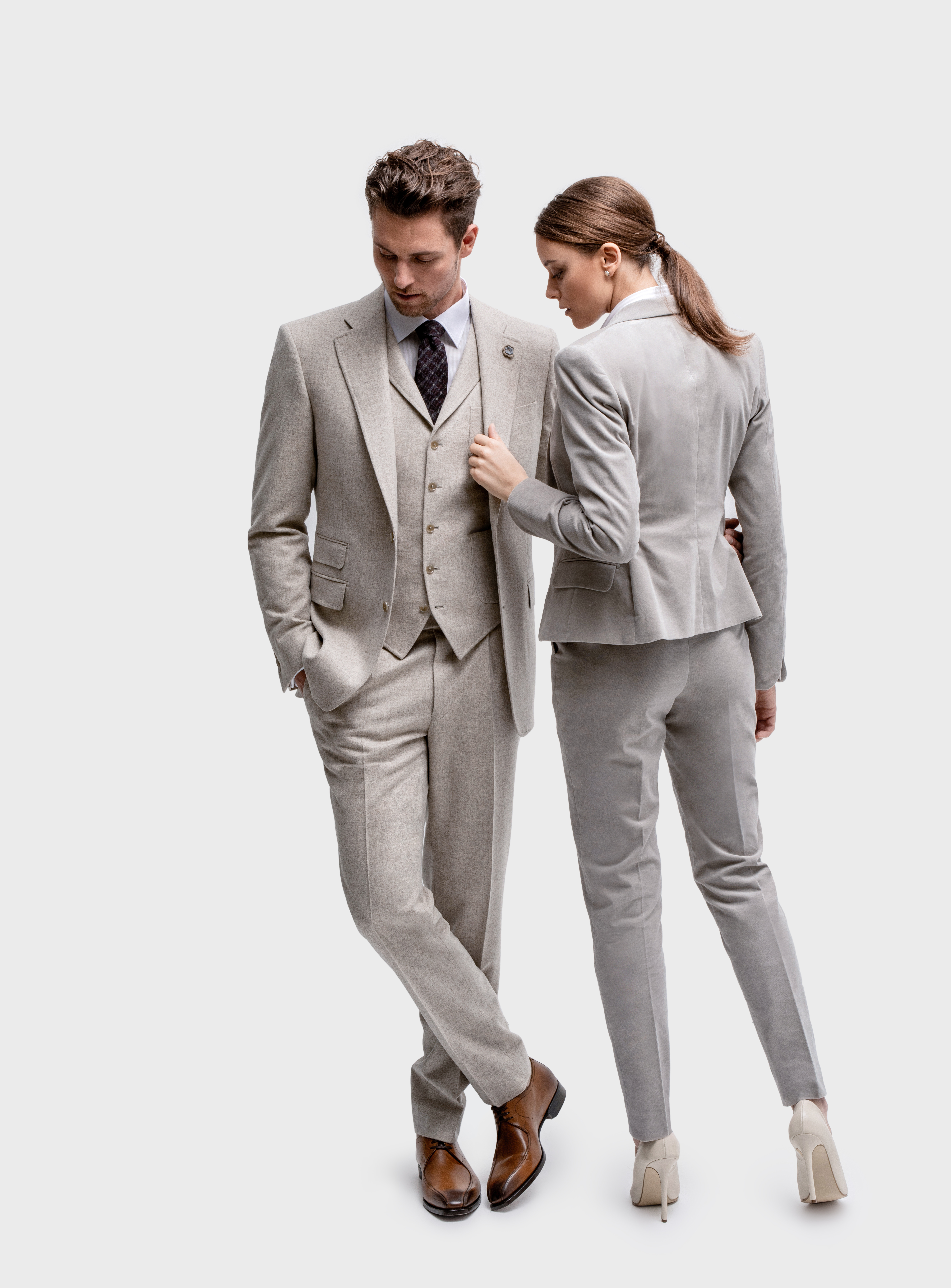 www.richardfox.co Ladies and Gent's custom made matching suits