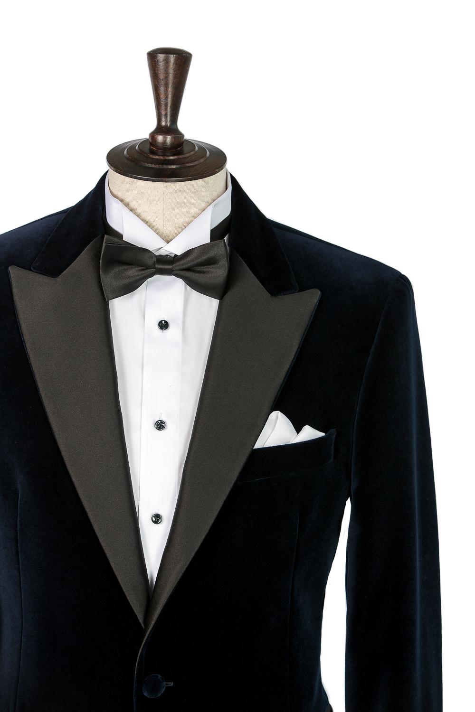 www.richardfox.co Custom Velvet Tuxedo Jacket