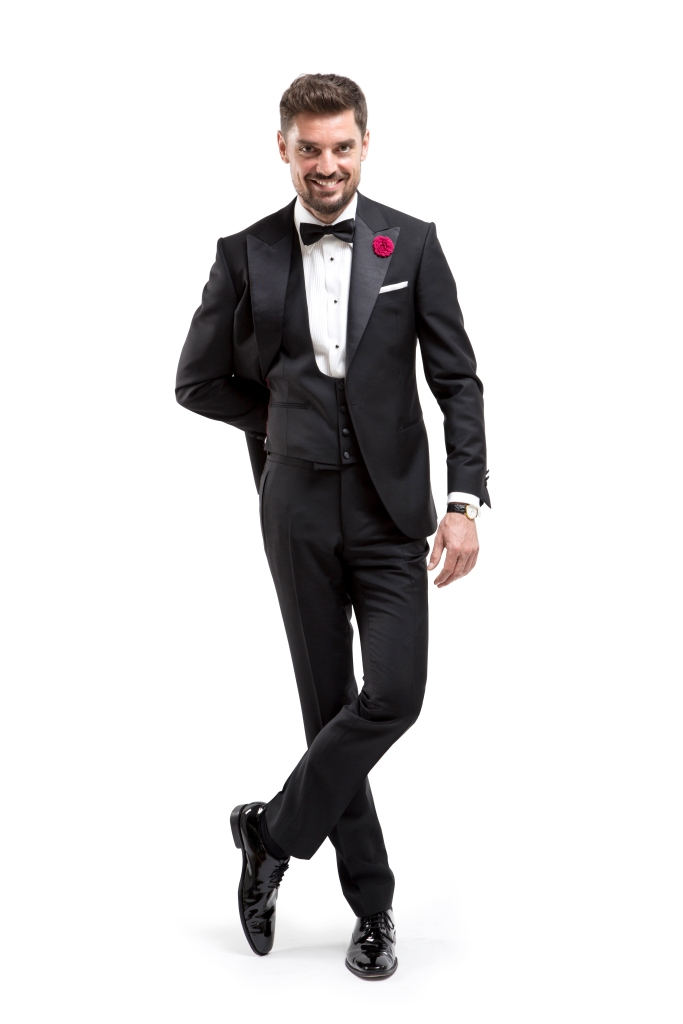 www.richardfox.co Classic Black custom Tuxedo.
