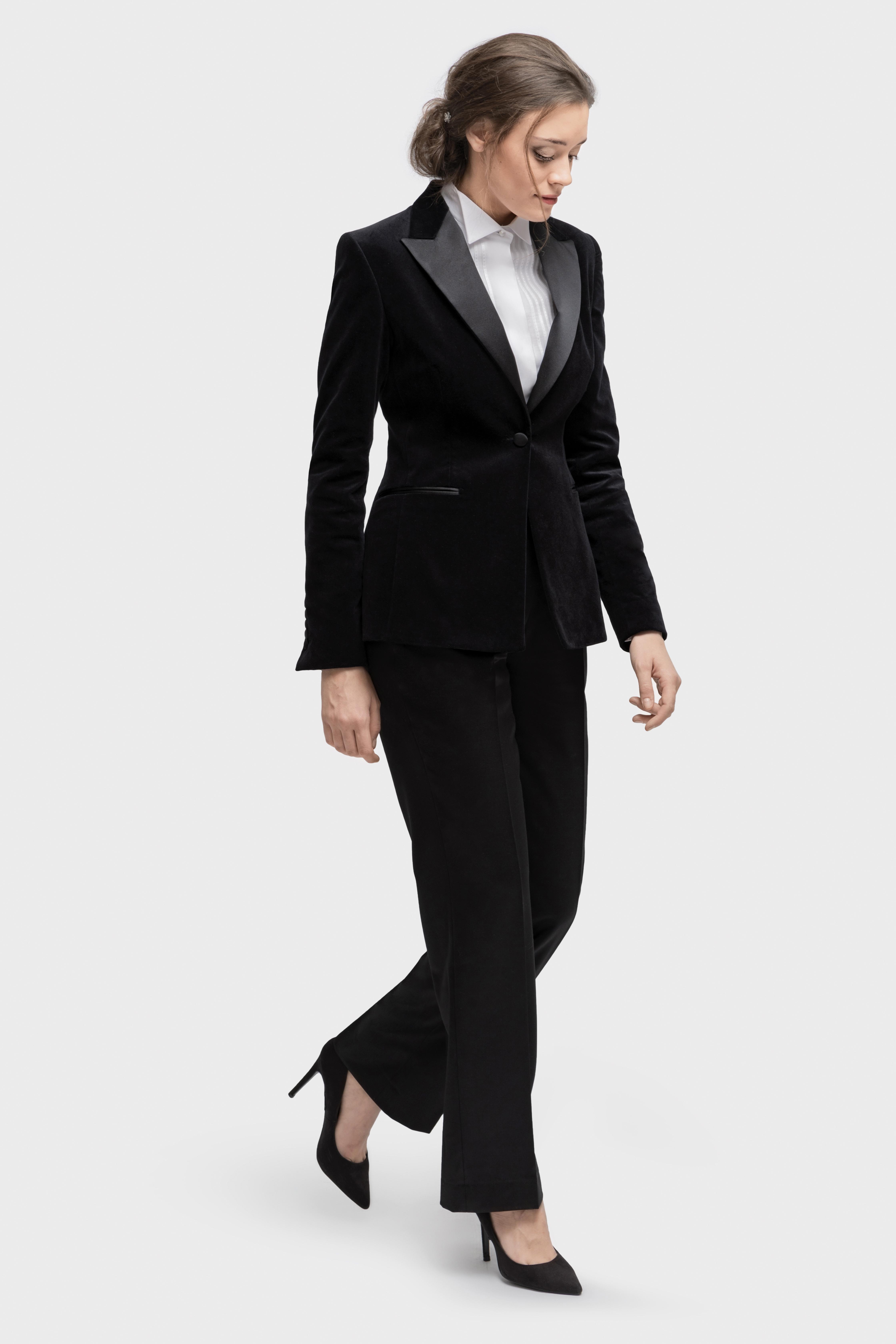 www.richardfox.co ladies Custom Tuxedo and shirt