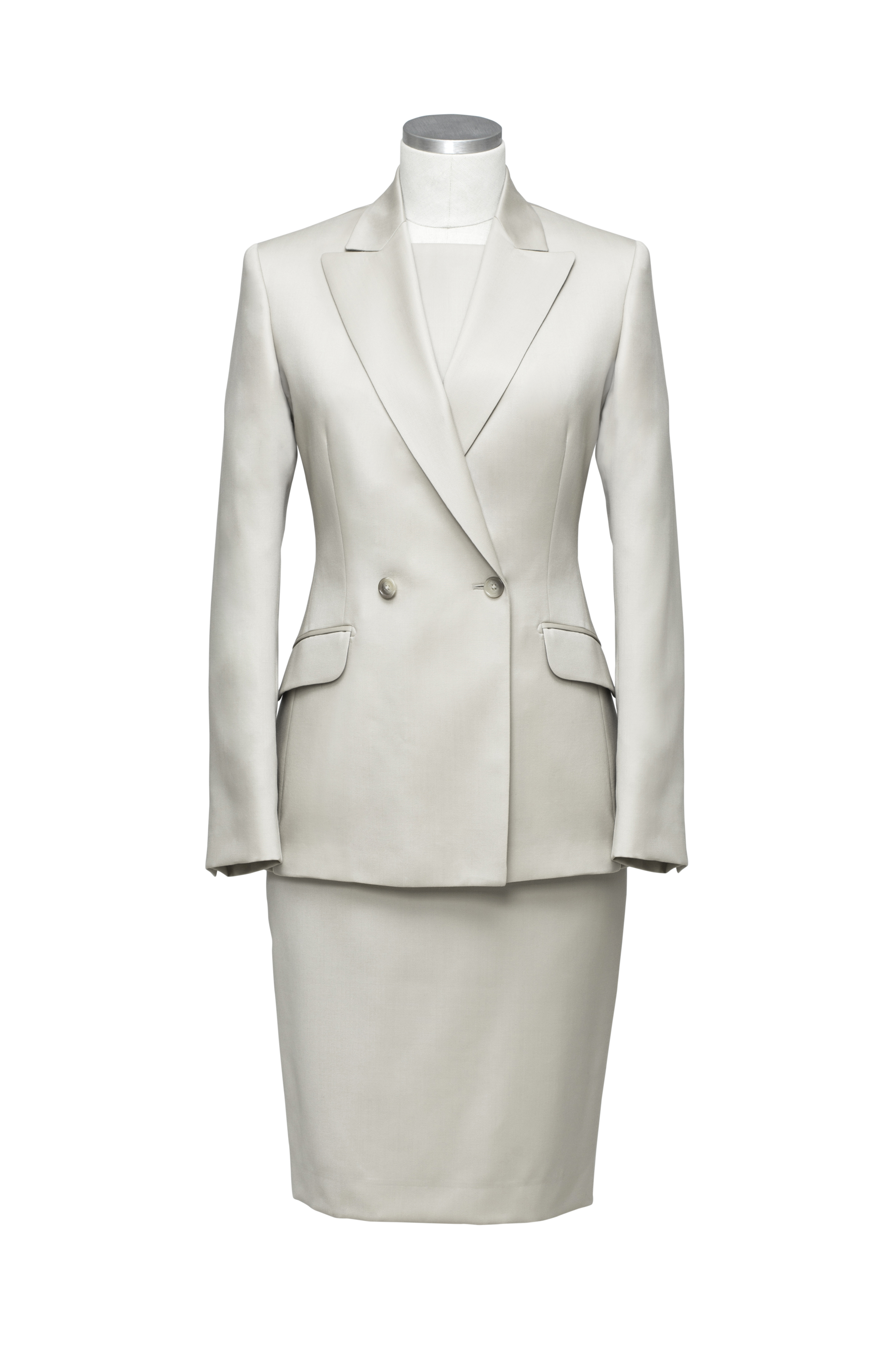 www.richardfox.co Ladies off white double breasted suit